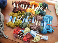 VINTAGE TAPESTRY YARN/WOOL -  32 SKEINS