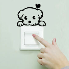 Removable Art Vinyl Quote DIY Cat Dog Wall Sticker Decal Mural Home RoomSwitch$O