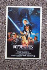 Return of the Jedi #1 Lobby Card Movie Poster