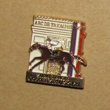 no:a14 Older pin Pins Horse Cheval Jockey ARC DE TRIOMPHE FRANCE