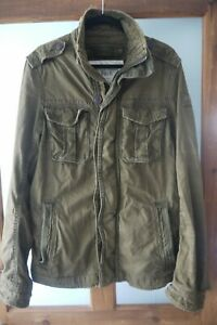 Men's Abercrombie & Fitch Vintage Sentinel Jacket Size Large Very Good Condition