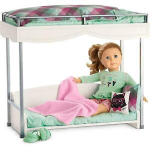 American Girl Bunk Bed and Bedding Set - Genuine ( See Description )