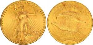 USA 20 Dollar Gold - St. Gaudens 1924 vz-st   57806