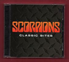 SCORPIONS - Classic Bites (2002 17 trk CD album) Rudolf Schenker, Ulrich Roth