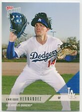 ENRIQUE HERNANDEZ 2018 Topps Now Road to Opening Day /528- DODGERS RTOD Set #413