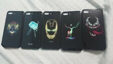 Brand new glow in the dark black with cool designs Iphone case for the 7/8 plus