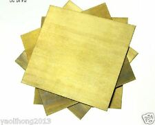 1pcs Brass Metal Sheet Plate 1mm x 200mm x 200mm