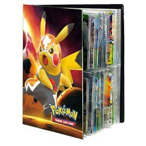 240 Cards Pokemon Cards Holder Album Binder Book List Folder Holder Collectors