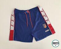 ATLETICO MADRID 1997/98 Home Football Pants XL Puma Vintage Soccer Shorts