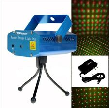 Mini Stage Laser LED Light Projector DJ Music Activated Party Celebration NEW