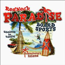 * Surfer T-Shirt Vintage Tiki Redneck Surfschule Kustom Design Surfing *3020