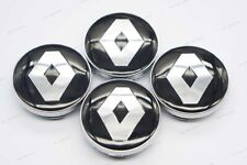 4x 60mm Car Wheel Center Covers Hub Caps Hubcaps Styling Logo For Renault
