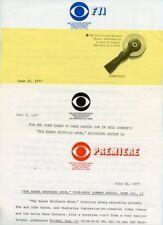 TOM KEANE JOHN KEANE THE KEANE BROTHERS SHOW RARE 1977 CBS TV PRESS MATERIAL