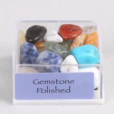 1Box Mixed Natural Rough Stones Raw Rose Quartz Crystal Mineral Rocks Collection