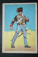 10th Royal Hussars   Battle of Waterloo British Army    Historic Uniform Card