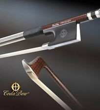 NEW! Coda Bow Violin Bow - Prodigy Model - Brown Carbon Fiber Weave
