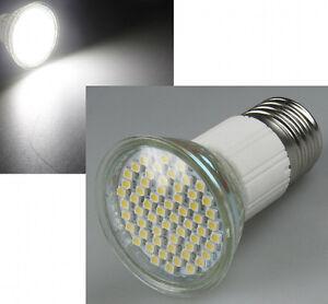 LED-Strahler mit 60 SMD LEDs E27 weiß warmweiß Leuchtmittel