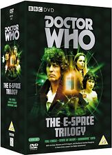 DR WHO 111 112 113 - E SPACE TRILOGY Doctor Tom Baker + Adric + Romana NEW DVD