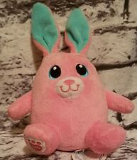"""BUILD-A-BEAR BABW HIDE AND GO BEEP INTERACTIVE PINK BUNNY RABBIT PLUSH 5"""" WORKS"""
