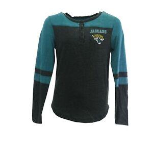 Jacksonville Jaguars Official NFL Kids Youth Girls Size Long Sleeve Shirt New