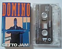 DOMINO - Getto Jam LP Version / Getto Jam Radio Edit -  CASSETTE Single 1993