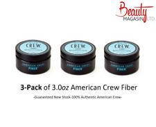 3 x American Crew Fiber 3oz  Bundle Free (3pk)