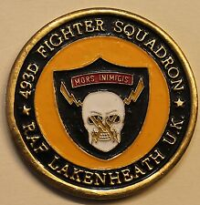 493rd Fighter Sq Grim Reapers F-15 Air Force Challenge Coin