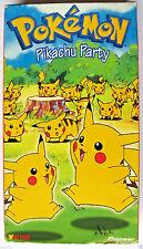 Pokemon vol. 12: Pikachu Party VHS Tape Anime Movie in it's Cardboard Case