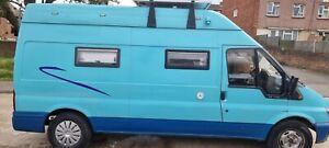 ford transit self build campervan