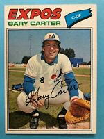 1977 Topps Baseball Card #295 Gary Carter Montreal Expos HOF