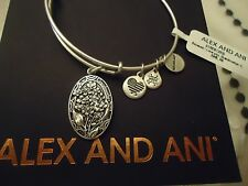 Alex and Ani Because I Love You GRANDMOTHER II Russian Silver New W Tag Card Box