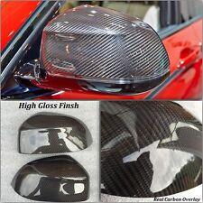 Reemplazo De Fibra De Carbono Espejo Lateral Cubiertas Para BMW X5 F15 2014 - 2016