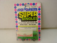 MAJORETTE SUPER SINGLES 1:100 SCALE SYNTHETIC TARPAULINS SAVIEM TRUCK NEW ON CAR