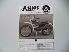 advertising Pubblicità 1975 MOTO ASPES NAVAHO P6 50 CS