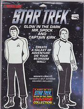 Illuminations Star Trek Glow in the Dark Mr. Spock Captain Kirk