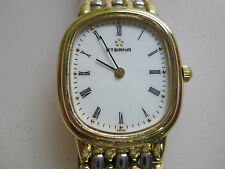 #304 ladys stainless steel and gold plate ETERNA watch bracelet