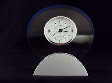 Modular Desk Clock ~ Analog Alpha Dial In Transparent Acrylic  Frame~ CL-320