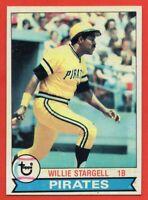 1979 Topps #55 Willie Stargell NEAR MINT+ HOF MVP Pittsburgh Pirates FREE S/H