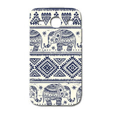 CUSTODIA COVER CASE ELEFANTE TRIBAL ELEPHANT PER SAMSUNG GALAXY ACE 3 S7272 7275
