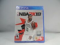 NBA 2K18 (Sony PlayStation 4, 2017) Kyrie Irving cover Celtics New sealed !