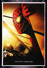 SPIDERMAN *CineMasterpieces RECALLED SPIDER MAN PRINTERS PROOF MOVIE POSTER 2002
