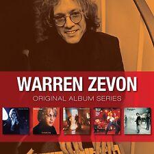 Warren Zevon ORIGINAL ALBUM SERIES Box Set EXCITABLE BOY The Envoy NEW 5 CD