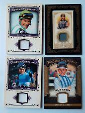 Jockey JULIE KRONE GARY STEVENS JERRY BAILEY GUTIERREZ (4) Relic Cards