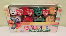 Jingle Beanies Decade Ty Beanie Babies Christmas Ornaments