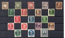 Baviera Valores del año 1888-920 (CH-499)