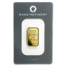 10 gram Gold Bar - Rand Elephant Mirage (In Assay) - SKU #91450