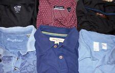 Tommy Bahama, Burma Bibas etc. LOT 6 Men Large S/S Polo Shirts (LOT 2511)