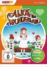 8 DVDs * ALICE IM WUNDERLAND - KOMPLETT BOX (TV-SERIE) # NEU OVP §