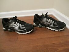 Used Worn Size 13 Nike Shox Experience Shoes Black Silver Platinum