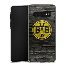 Samsung Galaxy S10 Plus Handyhülle Case Hülle - BVB Holzoptik
